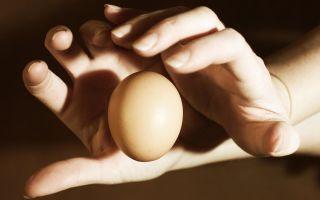 Снятие любого негатива с помощью яйца