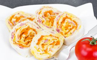 10 самых вкусных начинки для рулетов из лаваша
