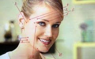 Лечебный китайский точечный массаж против головной или зубной боли