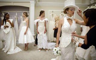 Самые смешные и ужасные свадебные платья
