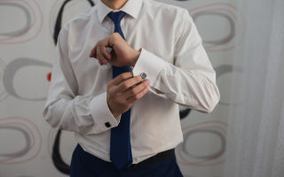 Как отстирать воротник и манжеты мужской рубашки