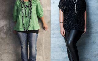 Как скрыть животик — лучшие наряды для девушке «в теле»