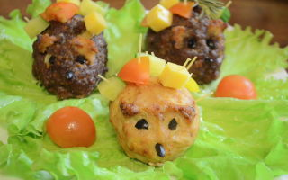Ежики из фарша и макарон: полноценное блюдо, без гарнира