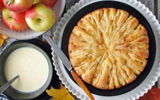 Яблочный пирог на кефире в мультиварке — быстро и вкусно