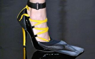 Берегись: в моду вошла самая уродливая обувь