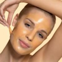 массаж лица медом