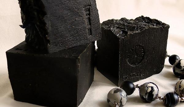 как выглядит черная глина