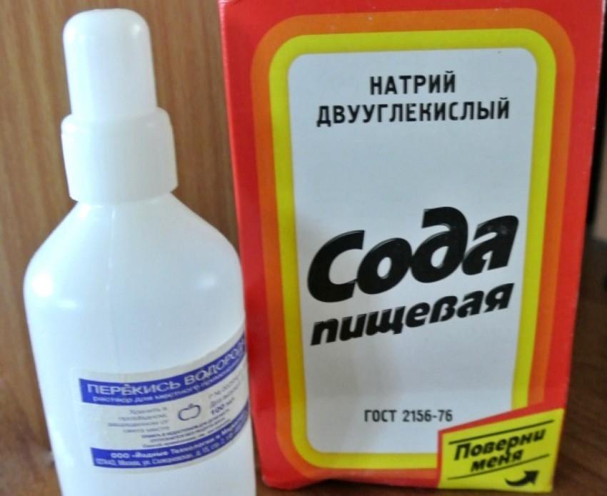 Как отбелить бельё перекисью водорода и содой